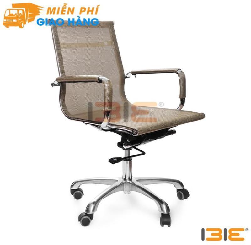 Ghế lưới IB802 chân hợp kim nhôm cao cấp màu đồng giá rẻ