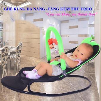 Ghế nhún cho trẻ ,Ghe nhun cho be an bot - Ghế rung đa năng cho bé + Tặng kèm thú treo nhiều chế độ rung, tiện ích và an toàn đối với sức khỏe trẻ nhỏ- Giảm giá 50% kèm bảo hành 1 đổi 1 uy tín