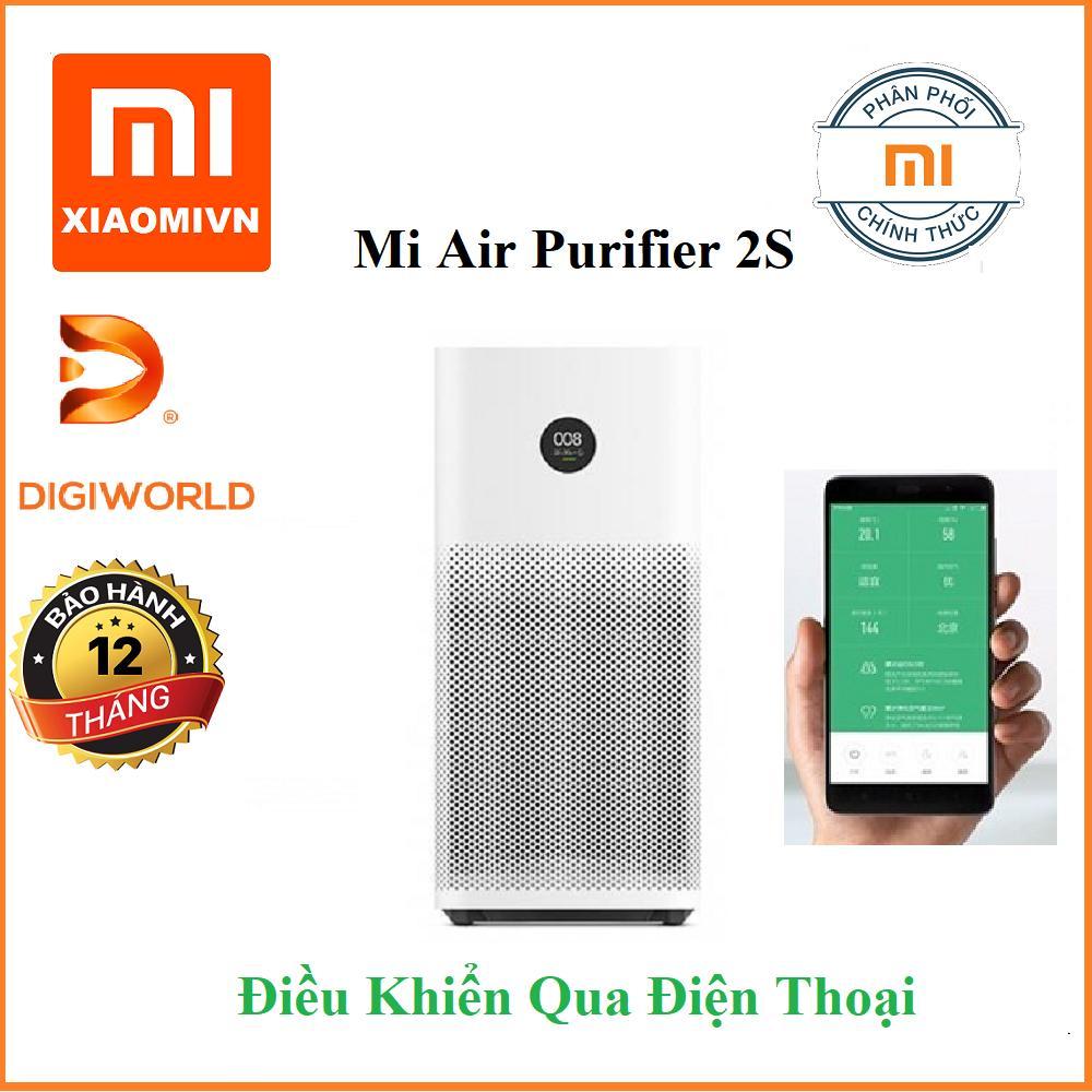 Bảng giá Máy lọc không khí thông minh Xiaomi Air Purifier 2S Bản Quốc tế Tiếng Anh - Hàng DigiWorld