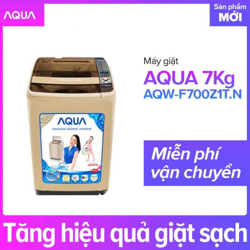 Bảng giá Máy Giặt AQUA 7.0 Kg AQW-F700Z1T.N - Hãng phân phối chính thức Điện máy Pico