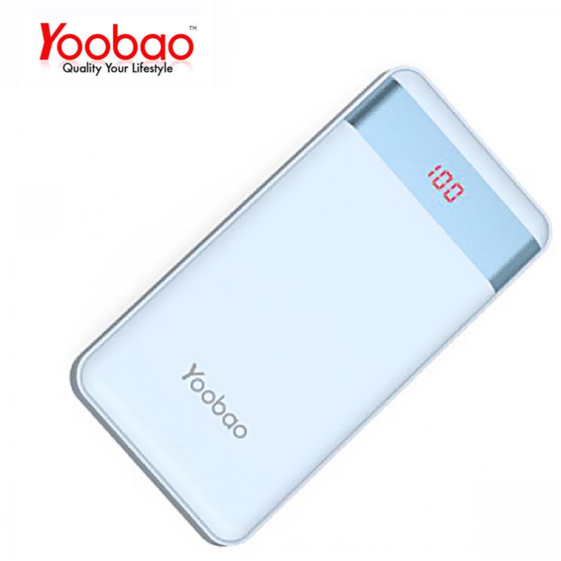 Pin Sạc Dự Phòng yoobao 12000mAh PL12Pro có LED hiển thị phần trăm - Hãng phân phối chính thức