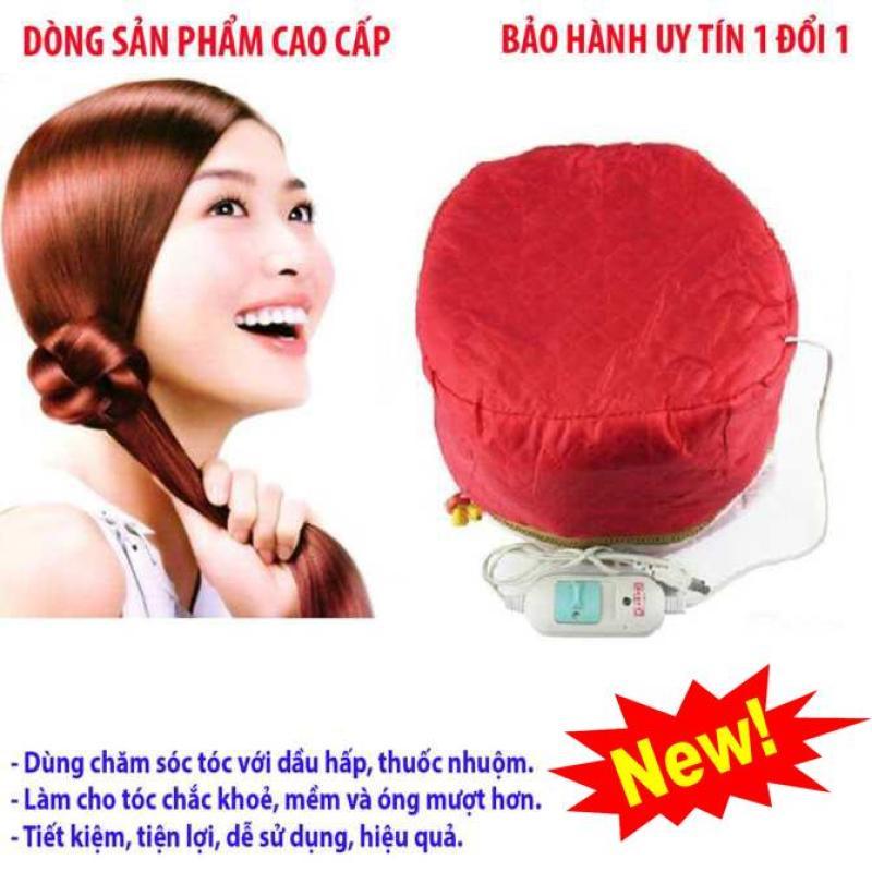 Dụng Cụ ủ Tóc Tại Nhà, Mũ Hấp Tóc ( Tặng Kèm Mũ Chụp Tóc) Hàng Đẹp Mẫu 782 giá rẻ