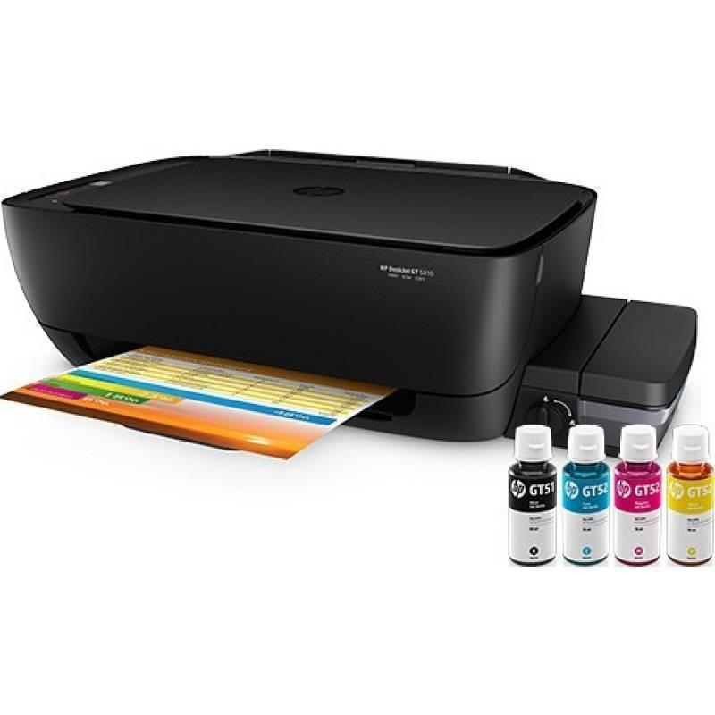 MÁY IN PHUN HP DeskJet GT 5810 - L9U63A All-in-One Printer ( in scan copy ) - có sẵn bộ đầu phun liên tục