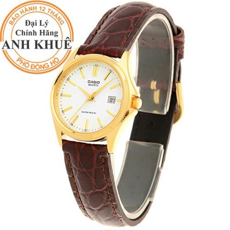 Đồng hồ nữ dây da Casio Anh Khuê LTP-1183Q-7ADF
