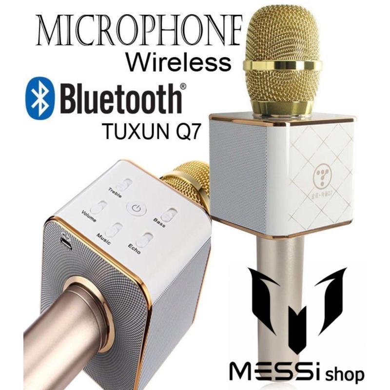 Micro mini ban o dau-Micro mini dien thoai-Mic karaoke Q7 cao cấp 3 trong 1 thế hệ mới năm 2019.Được mọi người lựa chọn nhiều trong năm nay-giảm tới 50%