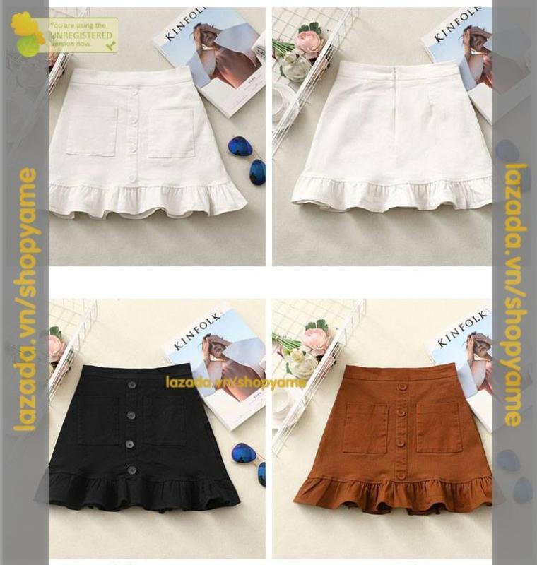 Chân Váy Đuôi Cá Nút lyly Yame