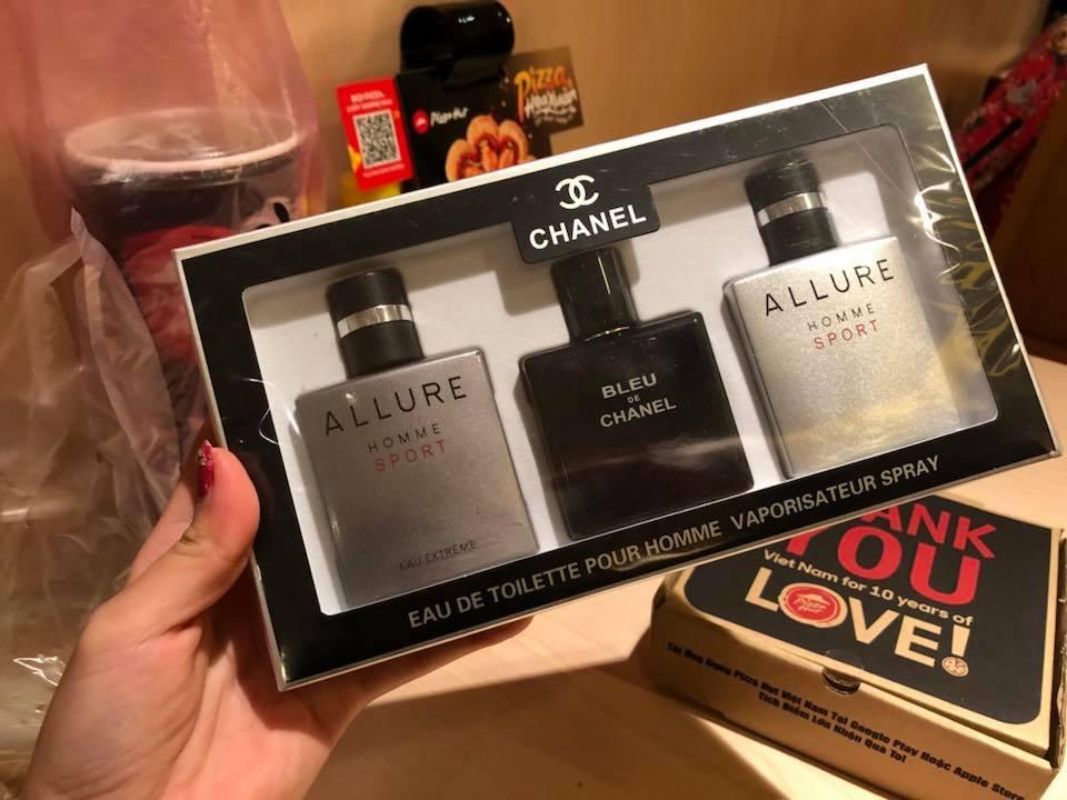 Bộ 3 chai nước hoa nam ALLURE - Hình Tự chụp
