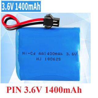 Pin Ni-cd 3.6v 1400mAh dùng cho xe mô hình ô tô điều khiển dung lượng cao thumbnail