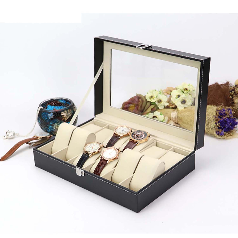 Hộp đựng 12 đồng hồ S1204 thiết kế da cao cấp bán chạy