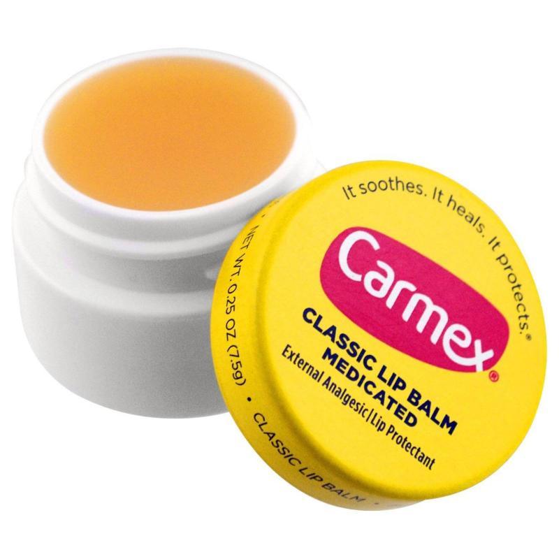 Son Dưỡng Môi Carmex Medicated Classic Lip Balm (Hũ) nhập khẩu