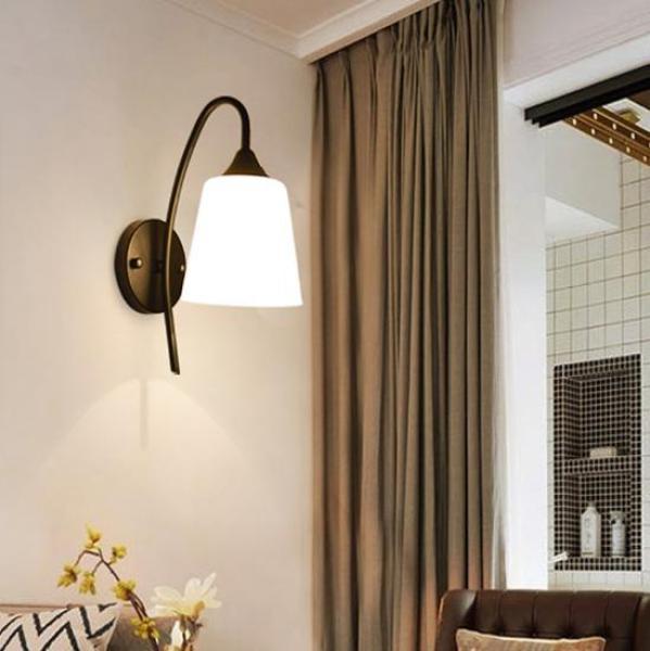 Đèn gắn tường - đèn tường - đèn vách phòng ngủ, cầu thang, hành lang siêu đẹp DGT002