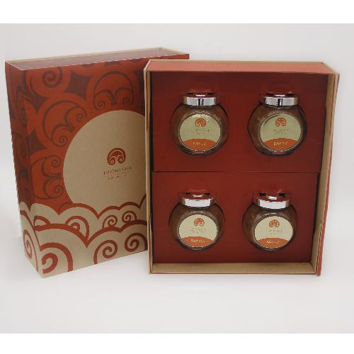 Bột Bào Tử Nấm Linh Chi - Hộp Quà Linh Chi Tài Lộc - 4 hộp Bào Tử - Trường Sinh nhập khẩu