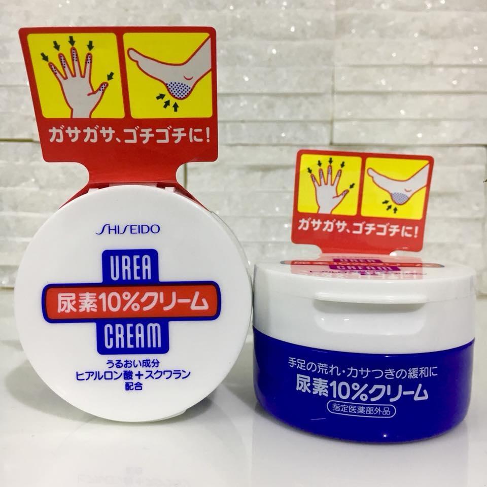 Kem dưỡng da trị nứt nẻ bàn tay và gót chân Urea Cream nội địa Nhật
