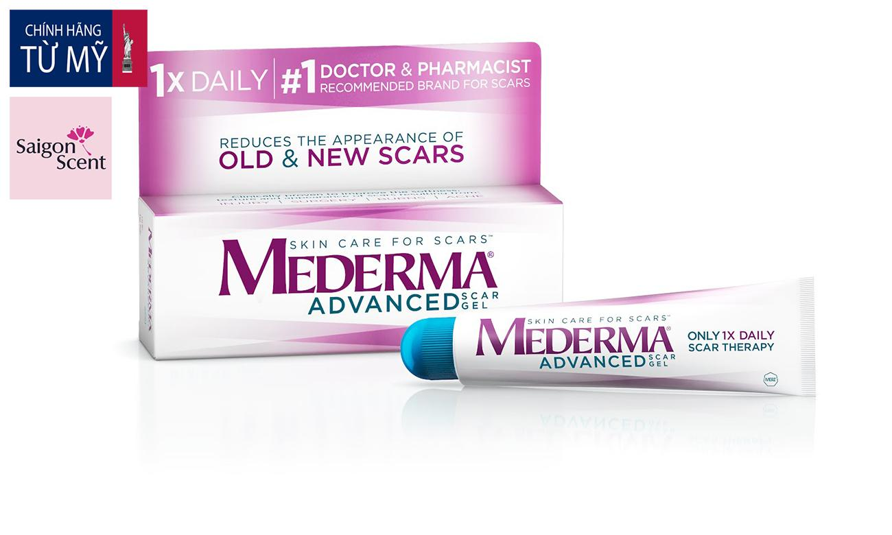 Gel trị sẹo MEDERMA Advanced Scar Gel (20g)