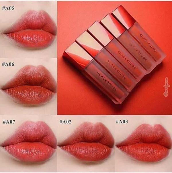Son Kem Lì Black Rouge Air Fit Velvet Tint nhập khẩu
