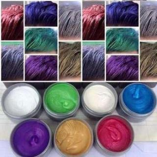 Sáp tao màu tóc đầy đủ 8 màu lựa chọn thumbnail