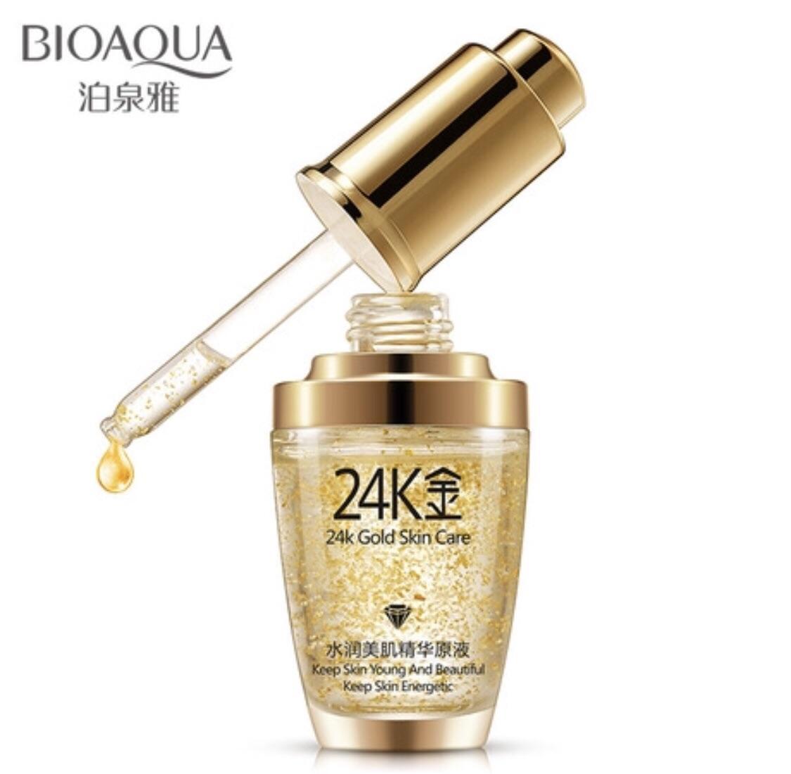 Hình ảnh Serum dưỡng da 24k Gold Skin Care của Bioaqua