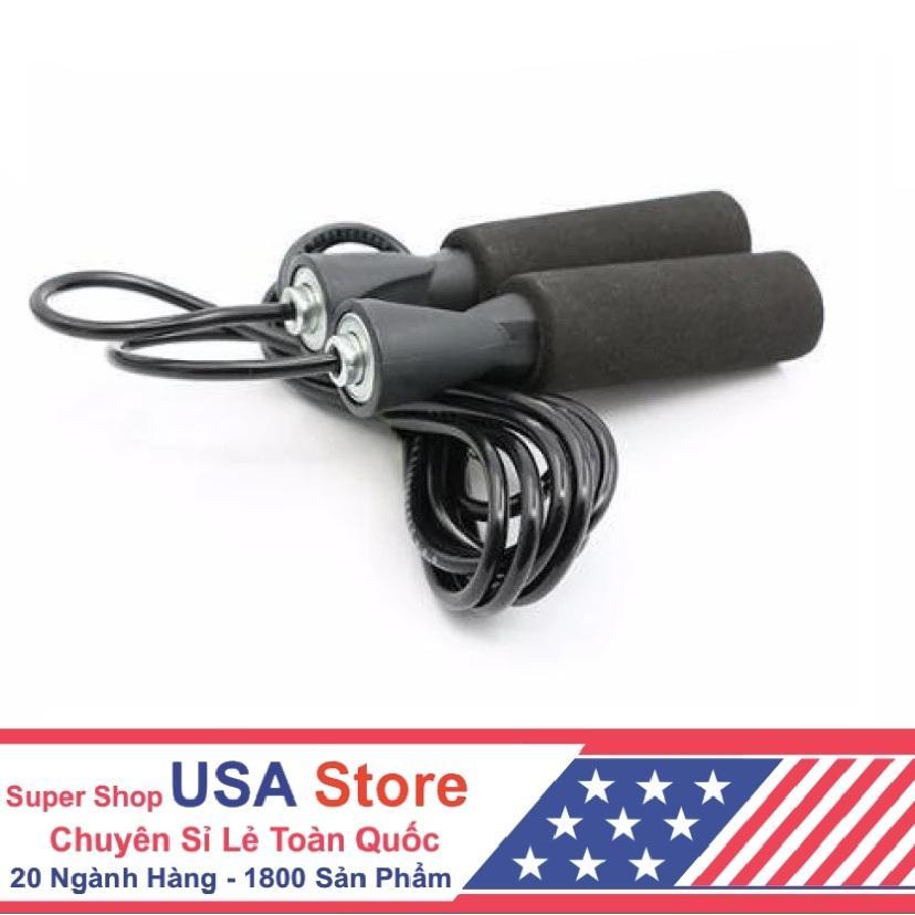 Hình ảnh Dây Nhảy Cao Cấp Tiêu Chuẩn USA Store US04088 (Đen)
