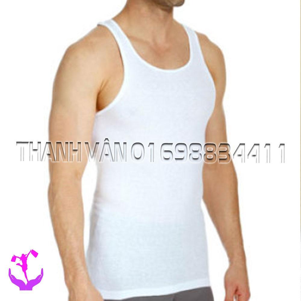Áo lót nam 3 lỗ vải cotton HÀ NỘI