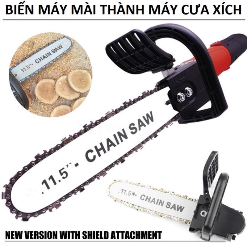 Bộ lam cưa xích dùng cho máy mài cắt cầm tay giá rẻ - dùng để  chế máy cắt gỗ