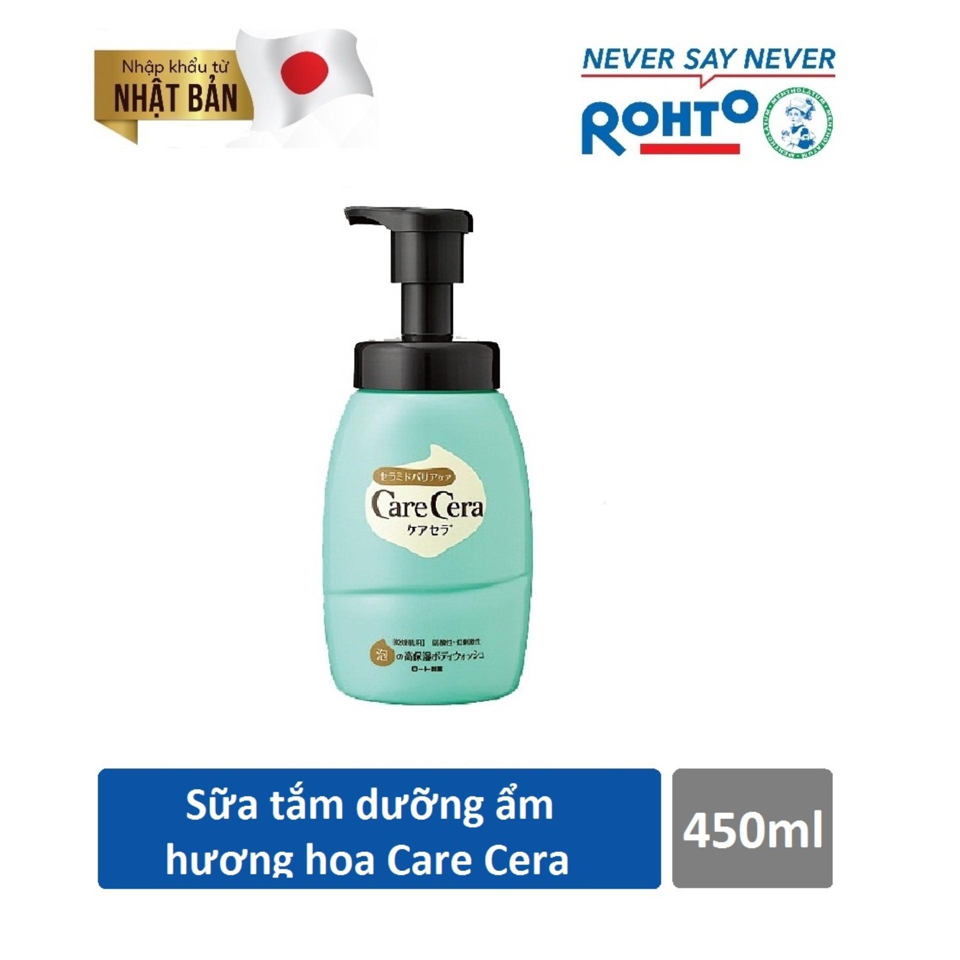 Bán Sữa Tắm Dưỡng Ẩm Hương Hoa Tự Nhien Care Cera Moisturizing Body Wash Pure Floral 450Ml Nhập Khẩu Từ Nhật Bản Rẻ