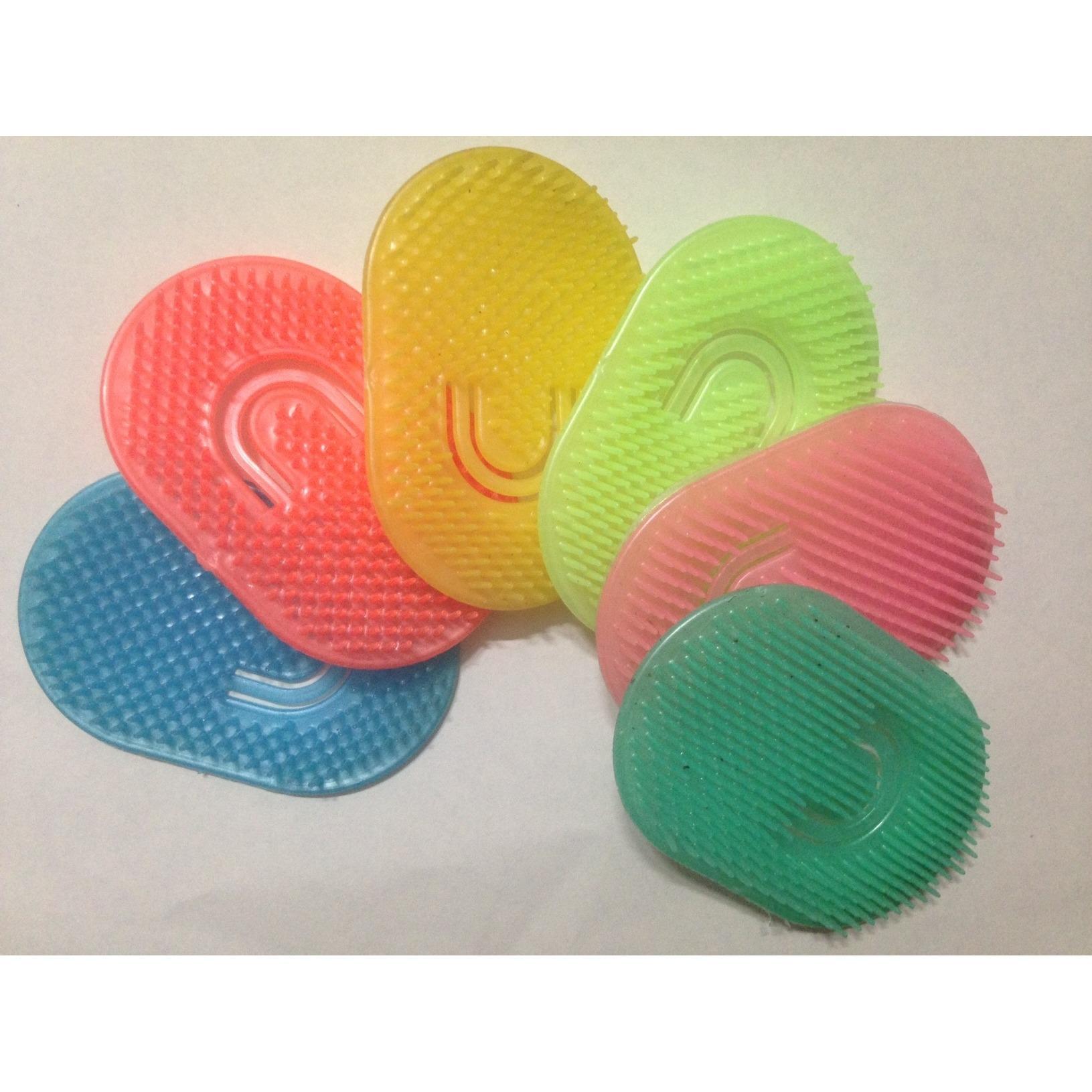 Combo 2 dụng cụ gội đầu - matxa da đầu bằng nhựa