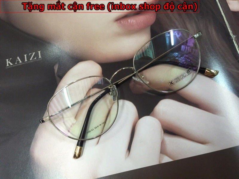 Giá bán Gọng kính cận Tròng bằng kính TR90 ( Tặng tròng kính cận )