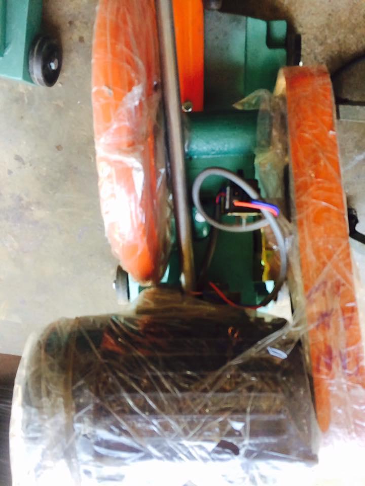 Máy cắt sắt bàn có motor 2HP 220V 100% dây đồng