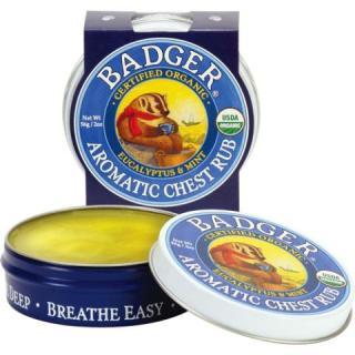 Sáp bôi ấm ngực hữu cơ Badger 56g thumbnail