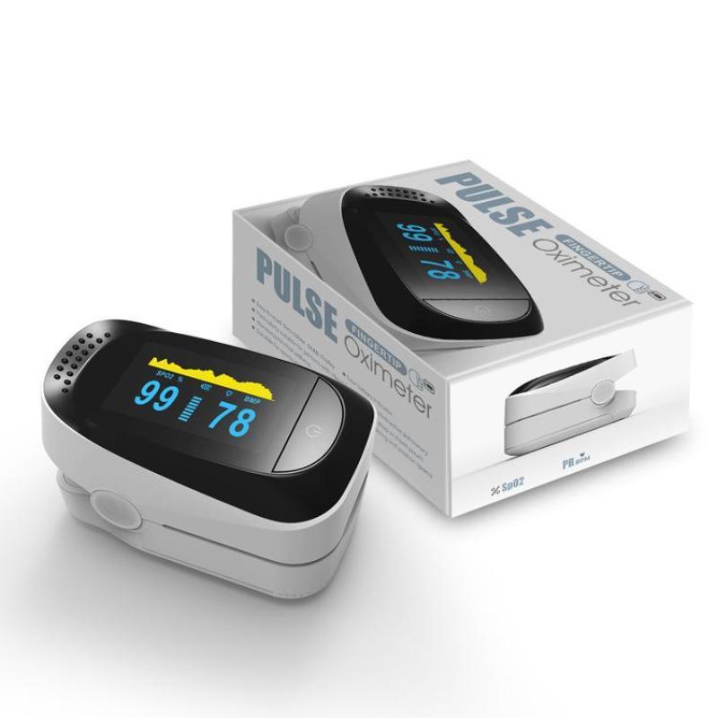 Máy đo nồng độ oxy trong máu kiêm đo nhịp tim nhỏ gọn bán chạy