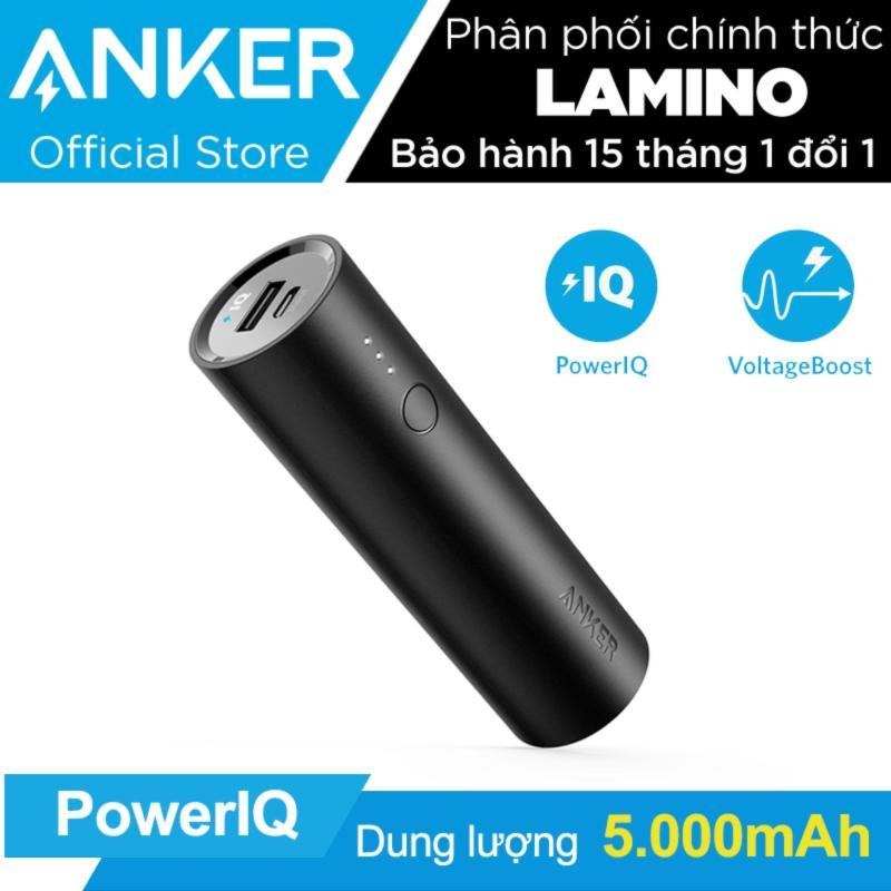 Giá Pin sạc dự phòng ANKER PowerCore 5000mAh - Hãng phân phối chính thức.