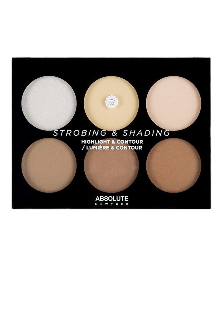 Bảng tạo khối và highlighter Absolute New York Contour Palette AHC01 Light To Medium tốt nhất