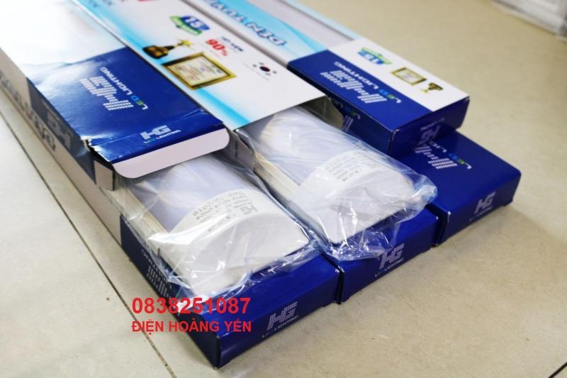6 Đèn tuýp led bán nguyệt 1,2m 45w (ánh sáng trắng) CHIP KOREA