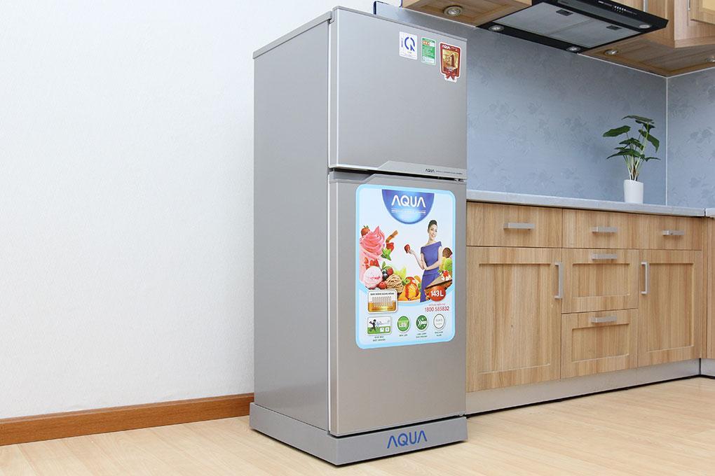 Hình ảnh Tủ lạnh Aqua 130 lít AQR-145BN SS