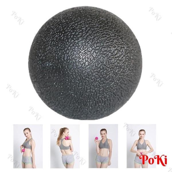 Bóng tập Yoga MASSAGE Ball - JMQ, 1 bóng ĐƠN mát xa cơ bắp - POKI
