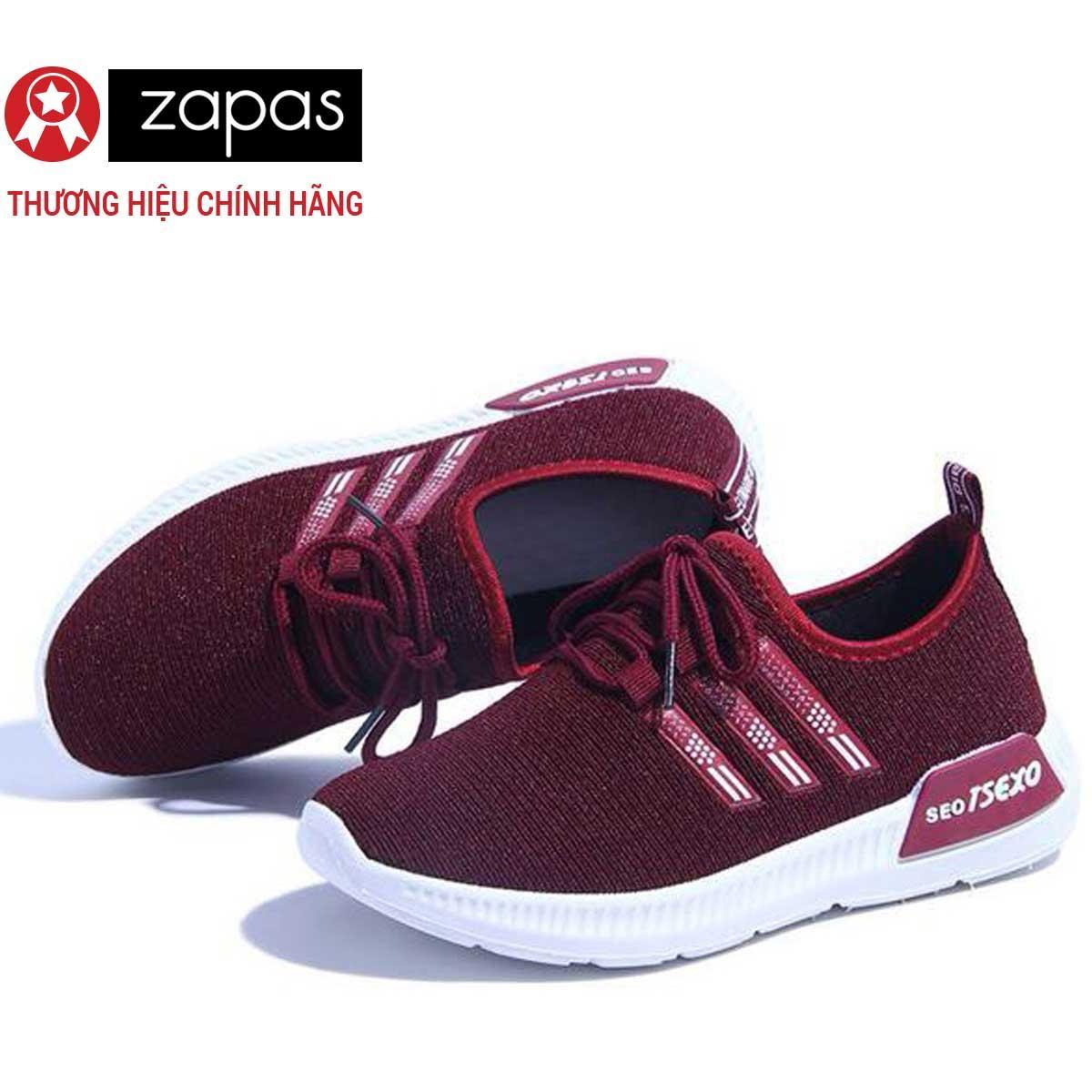 Giày Sneaker Nữ Thời Trang Zapas - GN036 (Đen)