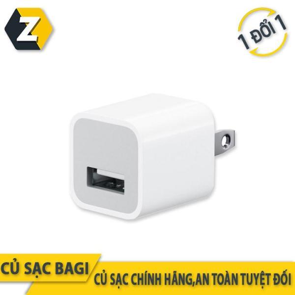 Củ sạc iphone tiêu chuẩn châu Âu thương hiệu Bagi CE-I51N