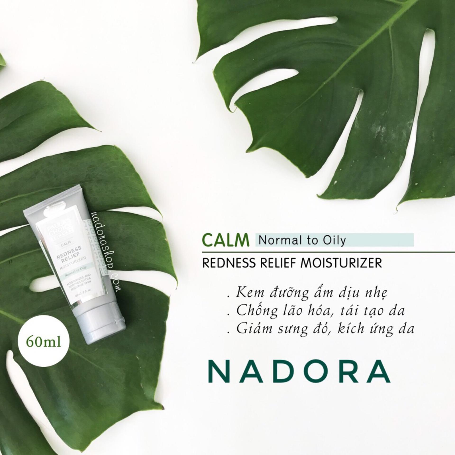 Kem Dưỡng Ẩm Ban Đêm Cho Da Dầu, Nhạy Cảm – PAULA'S CHOICE Calm Redness Relief Moisturizer (Oily Skin)