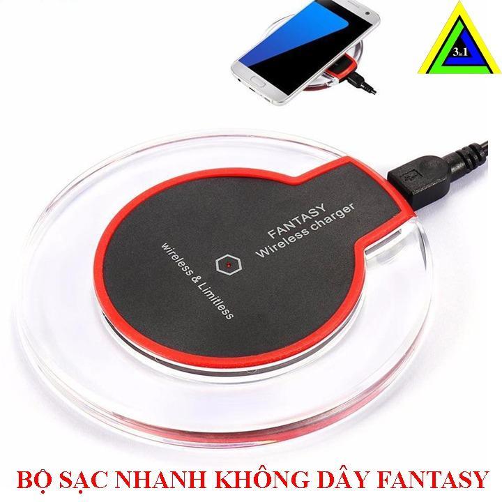 Hình ảnh Bộ SẠC KHÔNG DÂY FANTASY Dùng cho điện thoại Oppo, Xiomi ( Bao gồm chíp sạc)