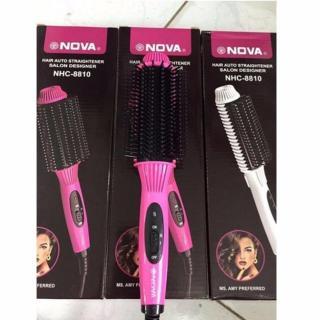 LƯỢC ĐIỆN 3 TRONG 1 NOVA NHC8810 - máy làm phồng tóc - máy uốn tóc - máy làm tóc đa năng - dụng cụ chăm sóc tóc - phụ kiện tóc - dụng cụ làm đẹp - dụng cụ chăm sóc tóc - chăm sóc các nhân - làm đep - lược chải tóc - lượt chải đầu thumbnail