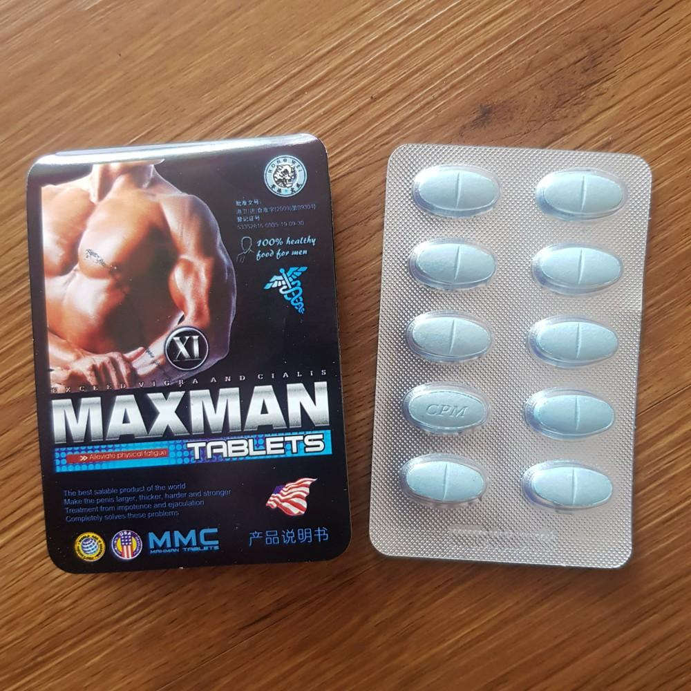 Hình ảnh Viên Cường Dương Thảo Dược Maxman - Kéo Dài Thời Gian 3800 mg
