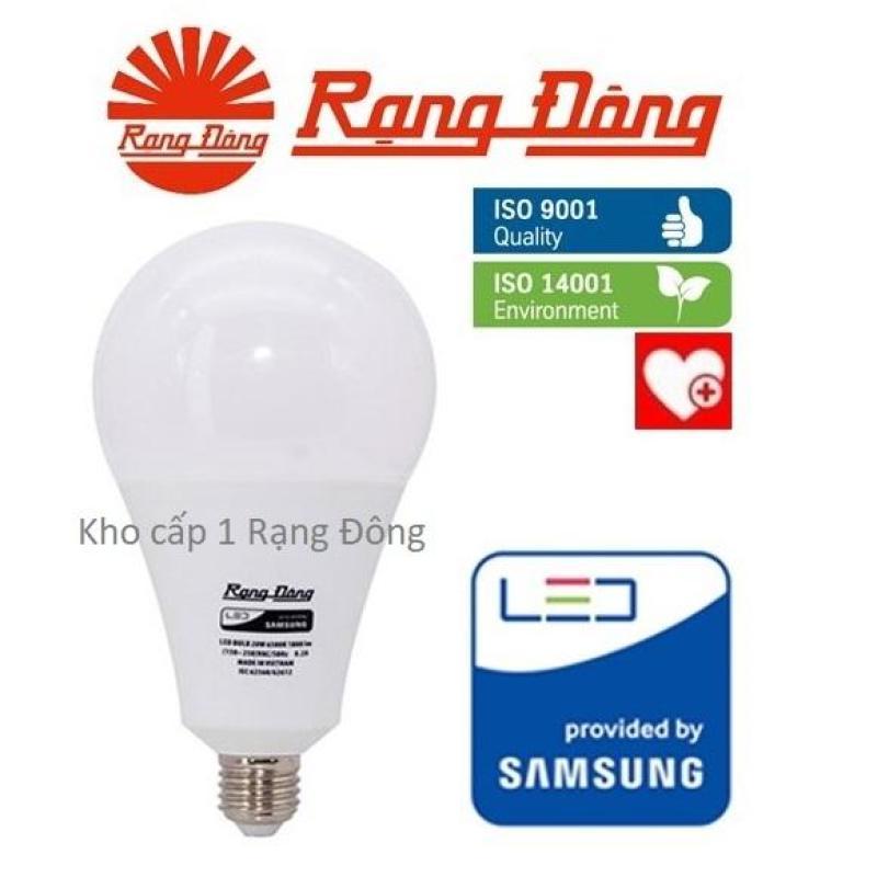 [Lấy mã giảm thêm 30%]Bóng đèn LED bulb 20W Rạng Đông - SAMSUNG ChipLED Mới