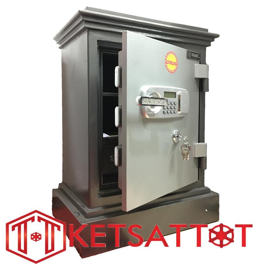 Hình ảnh Két sắt chống cháy cao cấp Treasury Bank TB2680 cánh đúc (khóa điện tử )