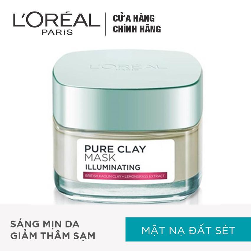 Hình ảnh Mặt nạ đất sét dưỡng da sáng tức thì L'Oreal Paris Pure Clay mask Illuminating