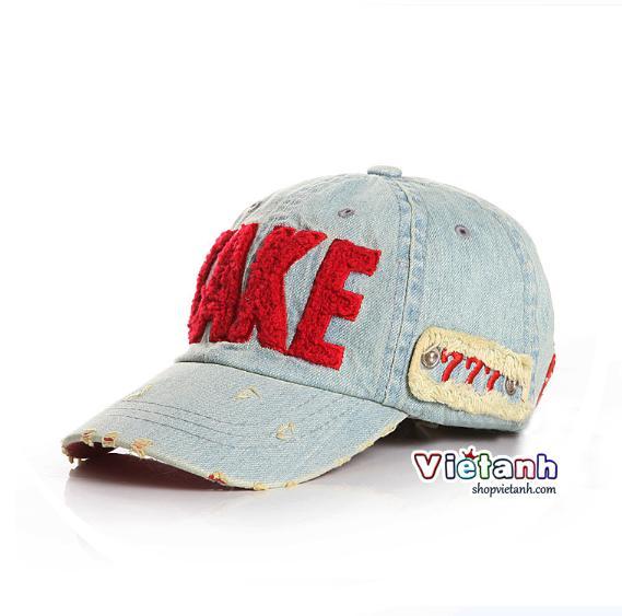 Mũ nón hè lưỡi trai trẻ em TAKE chất bò cho bé Trai MH2
