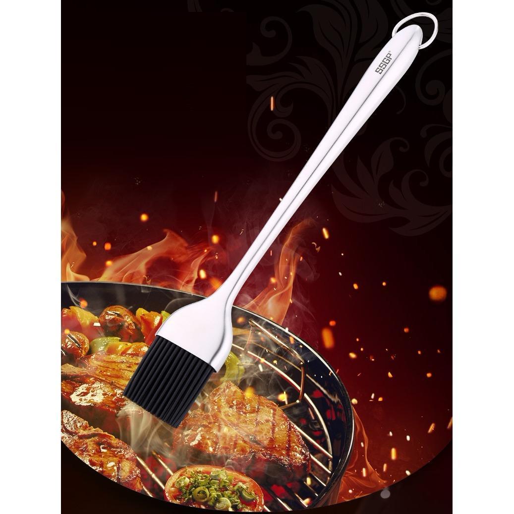 Chổi quét đồ dầu ăn, đồ nướng inox 304 - SSGP - 26cm