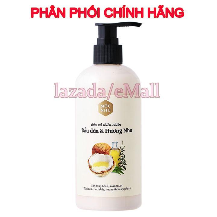 Dầu xả thiên nhiên Hương Dừa và Hương Nhu Mộc nhu - 300ml nhập khẩu