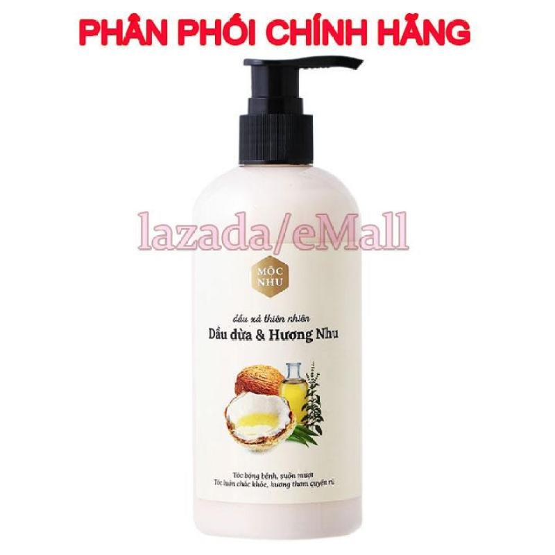 Dầu xả thiên nhiên Hương Dừa và Hương Nhu Mộc nhu - 300ml