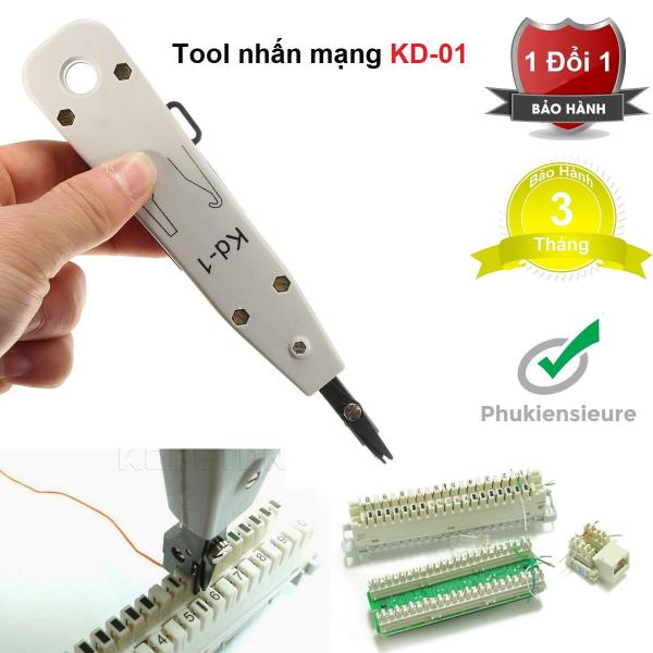 Bảng giá Tool nhấn mạng KD-01 chất lượng cao (trắng) Phong Vũ
