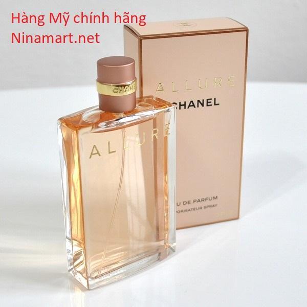 Nước Hoa Nữ Chanel Allure EDP Vaporisateur 100ml